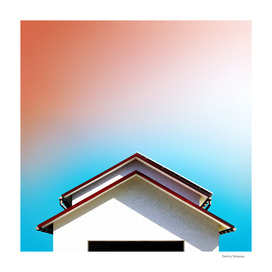 Facade #3 [Colors above the Roofs]