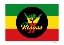 Shaka Hands with reggae style