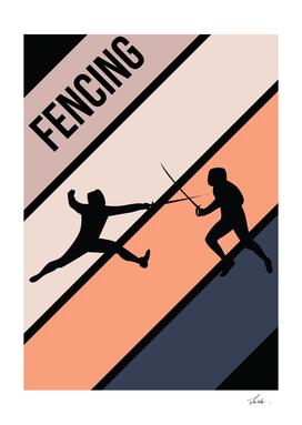 fencing sport battle
