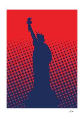 halftone liberty