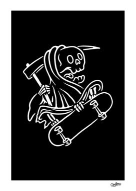 Grim Reaper Skateboarding