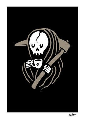 Grim Reaper Love Coffee