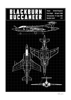 Blackburn buccaneer aircraft