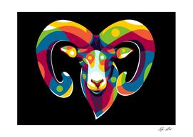 The Mouflon Great Horn