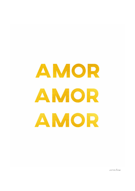 Amor Amor Amor (Love in spanish)