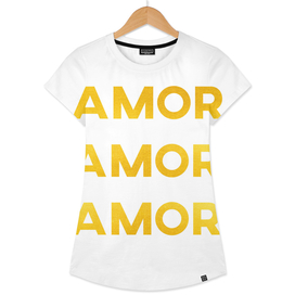Amor Amor Amor (Love in spanish)