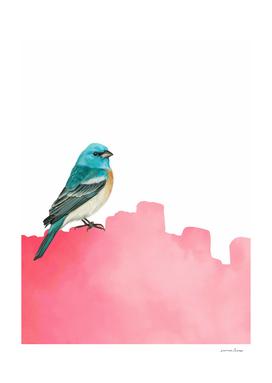 Modern Bird Pink