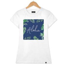 Aloha And Leaves