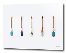 Five Oars