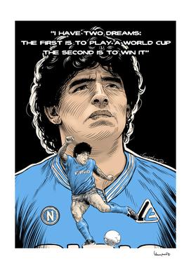In memory - Diego Armando Maradona