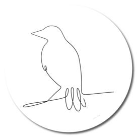 One Line Bird II