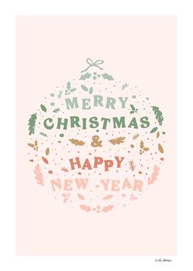 Christmas Greeting Ball