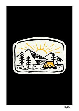 Camp Hand Drawn