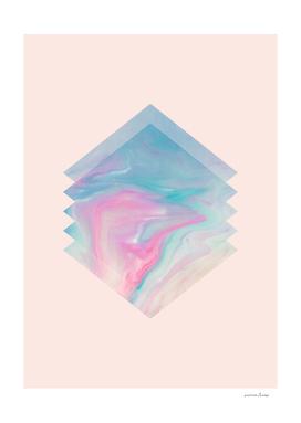 Pink Aqua Marble