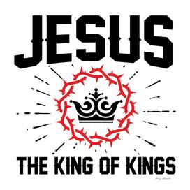 Christian print. Jesus - the King of kings.