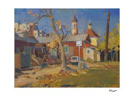 Court yard in Chernihiv