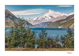 Patagonia Landscape El Chalten, Argentina