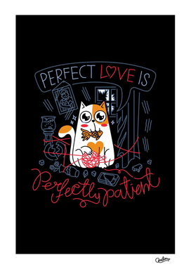 Perfect Love is Perfectly Patient