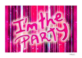 Party Concept Typographic Design
