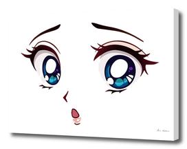 face anime