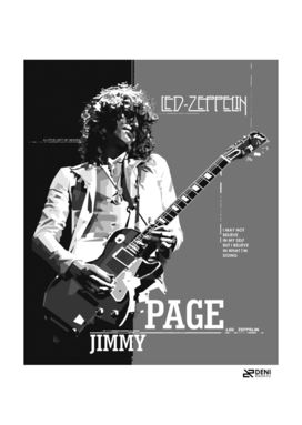 jimmy page b/w edition