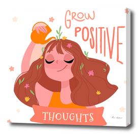 grow positive