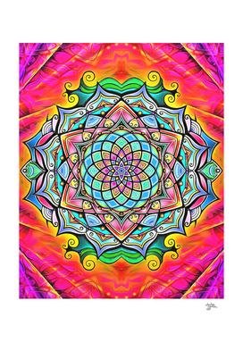 Mandala Hand-Drawn 2