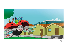 """Illustration 16 of """"The Ladybug and Hands in the Earth"""""""