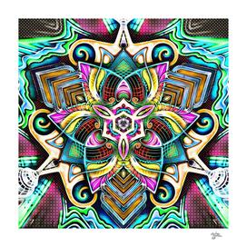 Mandala Hand-Drawn 4 : Yang
