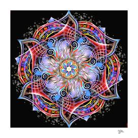 Mandala Strange Runes