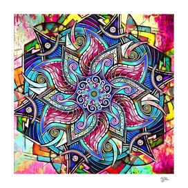 Mandala Hand-Drawn 6