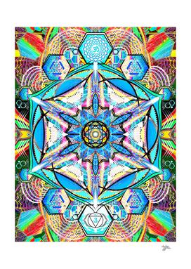 Om Adjna Dubstep Mandala