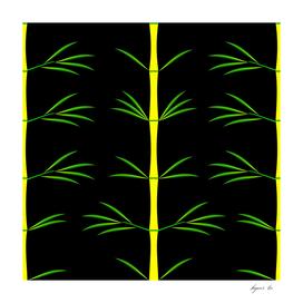 yellow_bamboo_pattern_black