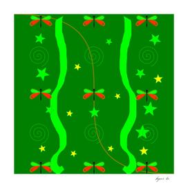 green_pattern_butterfly
