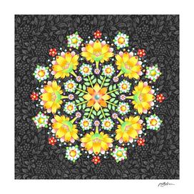 Flower Sparkle Mandala