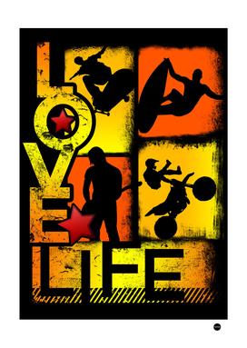Love Life Outdoor Sports Design