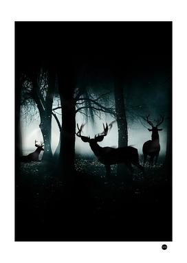 Guardians Of The Forest Deer Forest Design