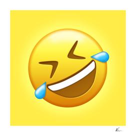 Rolling on the Floor Laughing Emoji | Pop Art