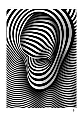 The Ear (black-white)