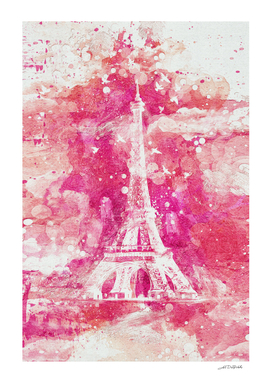 Artistic XLIV - Eiffel tower Paris / NE
