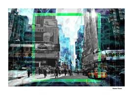 Street New York - Street Art Colored urban Art