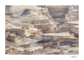 Judaen Desert Rocky Landscape, Israel