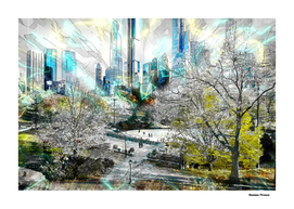 Central park New York - Cities Street landscapes