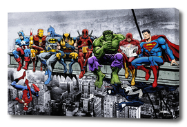 Marvel and DC Superheroes Meet-Up