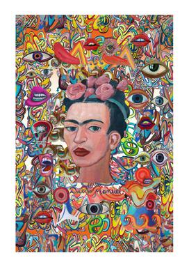 Graffiti y Frida