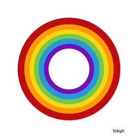 Rainbow Circles Minimal Abstract