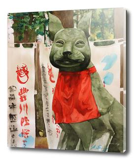 Kitsune-Japanese Guardian  Fox