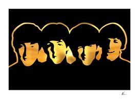 Beatles | Gold Series | Pop Art