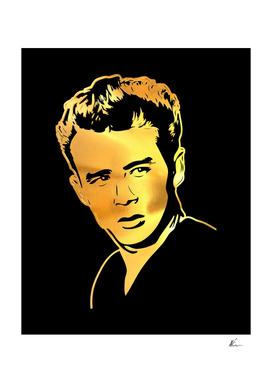 James Dean   Gold Series   Pop Art