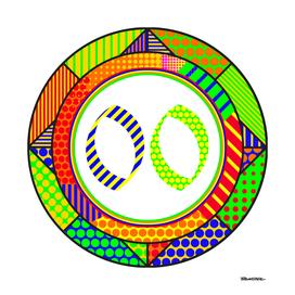 Circle OLD ENGLISH Modern - 2000 - Pop Art